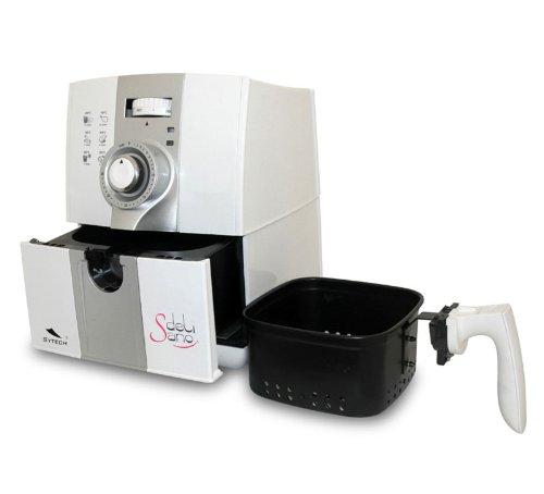 Freidora por aire caliente delisano para cocinar sin for Cocinar wok sin aceite